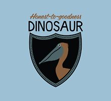 Honest-To-Goodness Dinosaur: Pelican (on light background) Unisex T-Shirt
