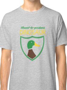Honest-To-Goodness Dinosaur: Duck (on dark background) Classic T-Shirt