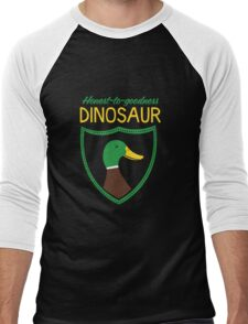 Honest-To-Goodness Dinosaur: Duck (on dark background) T-Shirt