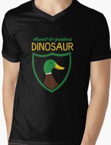Honest-To-Goodness Dinosaur: Duck (on dark background) T-Shirt