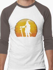 Praise The Sun Shadow Men's Baseball ¾ T-Shirt