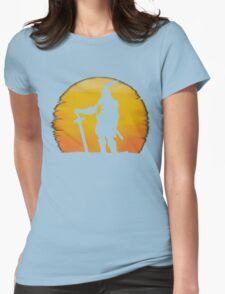Praise The Sun Shadow Womens Fitted T-Shirt