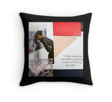 """Get Lost""  Throw Pillow"