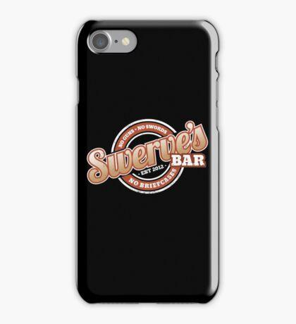 Swerve's Bar - Logo iPhone Case/Skin