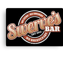 Swerve's Bar - Logo Canvas Print