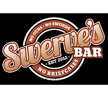 Swerve's Bar - Logo Photographic Print