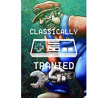 Retro Joystick Classically Photographic Print
