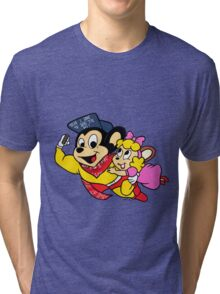 O.G Mighty Mouse by WRTISTIK Tri-blend T-Shirt
