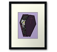 Creepy Undertaker Framed Print