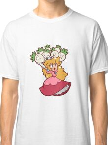 Princess Peach with Turnips Classic T-Shirt