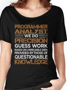 Programmer Analyst Women's Relaxed Fit T-Shirt