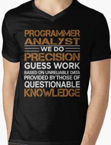 Programmer Analyst Mens V-Neck T-Shirt
