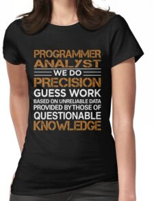 Programmer Analyst Womens Fitted T-Shirt