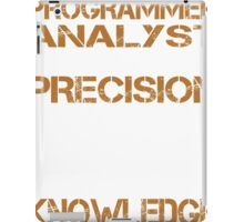 Programmer Analyst iPad Case/Skin