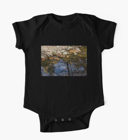 Water, Leaves, Stones and Branches One Piece - Short Sleeve