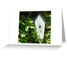 The Bird House 2 Greeting Card