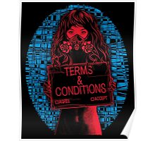 Terms & Conditions Poster
