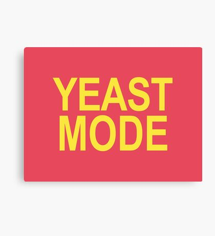 Yeast Mode shirt – The League, Andre Canvas Print