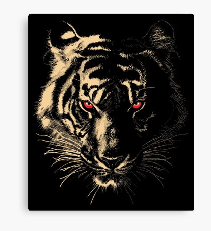 Story of the Tiger Canvas Print