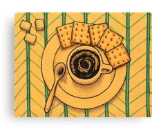 Coffe Break Canvas Print