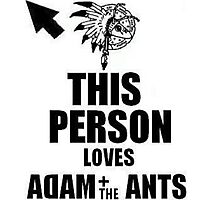 This Person Loves Adam&The Ants Photographic Print