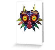 Zelda Majoras Mask Greeting Card