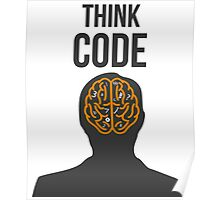 Think Code Poster
