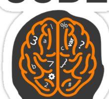 Think Code Sticker