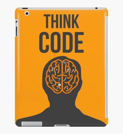 Think Code iPad Case/Skin