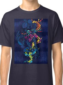 skeleton fluid multi-color Classic T-Shirt