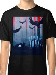 Blue Stone Landscape Classic T-Shirt