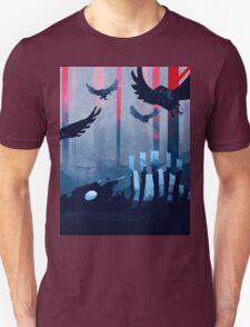 Blue Stone Landscape Unisex T-Shirt