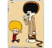 Afro Calvin and Hobbes iPad Case/Skin