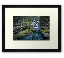 Magdalena waterfall Framed Print