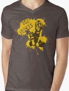 Sup Sucka! Mens V-Neck T-Shirt