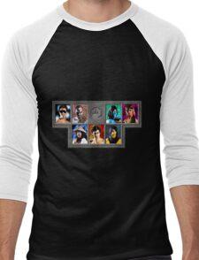 Mortal Kombat Character Select Men's Baseball ¾ T-Shirt