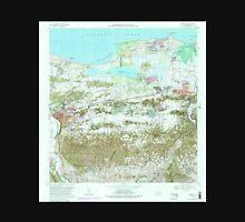 USGS TOPO Map Puerto Rico PR Manati 362150 1969 20000 Unisex T-Shirt