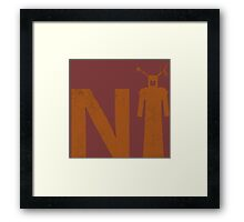 Ni! Framed Print