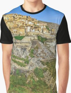 Bocairent Panorama Graphic T-Shirt