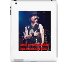 There's no stronger bond than an antsister bond iPad Case/Skin
