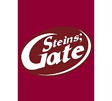 Steins;Gate - an intellectual beverage  Photographic Print