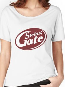 Steins;Gate - an intellectual beverage  Women's Relaxed Fit T-Shirt