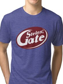 Steins;Gate - an intellectual beverage  Tri-blend T-Shirt