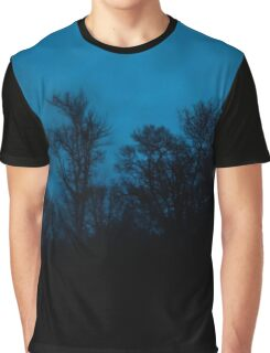 Spooky Forest Time Graphic T-Shirt