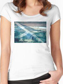 Rabbie Burns Night Women's Fitted Scoop T-Shirt