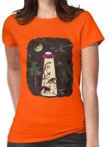 Calvin & Hobbes Womens Fitted T-Shirt