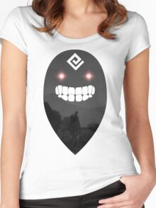 Black Spirit Screenshot (Black Desert Online) Women's Fitted Scoop T-Shirt