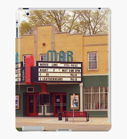 Route 66 - Mar Theater iPad Case/Skin