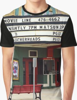 Route 66 - Mar Theater Marquee Graphic T-Shirt