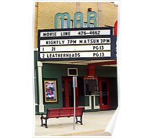 Route 66 - Mar Theater Marquee Poster